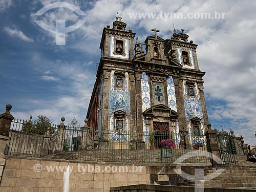 Fachada da Igreja de Santo Ildefonso (1739)  - Lisboa - Distrito de Lisboa - Portugal