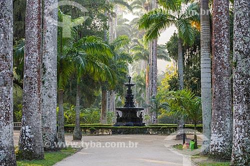 Chafariz das Musas no Jardim Botânico do Rio de Janeiro  - Rio de Janeiro - Rio de Janeiro (RJ) - Brasil