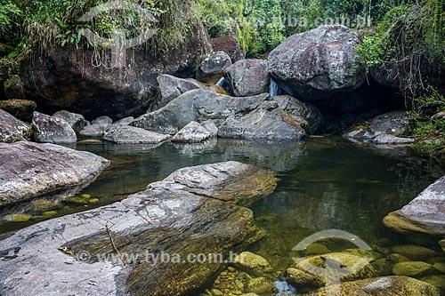 Poço da Ponte no Rio Pirapetinga - Área de Proteção Ambiental da Serrinha do Alambari  - Resende - Rio de Janeiro (RJ) - Brasil