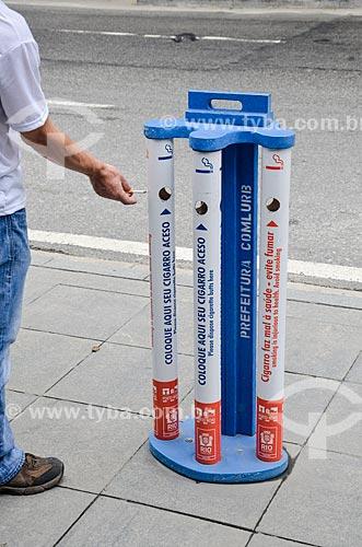 Coletor de bituca em formato de cigarro  - Rio de Janeiro - Rio de Janeiro (RJ) - Brasil