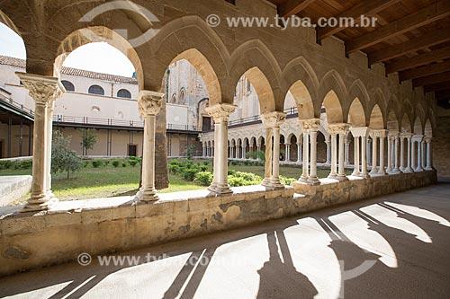 Cláustro da Duomo di Cefalù (Catedral de Cefalù) - século XII  - Cefalù - Província de Palermo - Itália