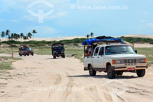 Transporte para acesso ao litoral de Jijoca de Jericoacoara  - Jijoca de Jericoacoara - Ceará (CE) - Brasil
