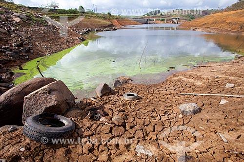 Seca na barragem de Pirapama  - Cabo de Santo Agostinho - Pernambuco (PE) - Brasil