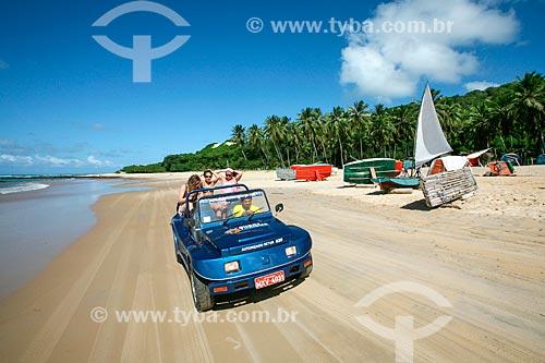 Passeio de bugre na praia da Baía Formosa  - Baía Formosa - Rio Grande do Norte (RN) - Brasil