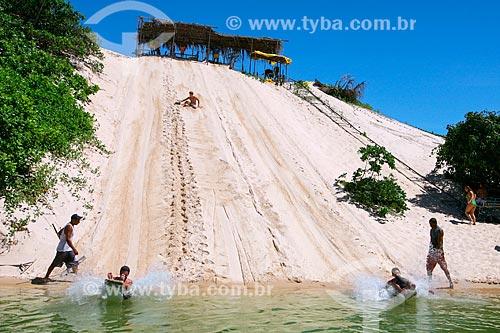 Esquibunda nas dunas da Praia de Jacumã  - Ceará-Mirim - Rio Grande do Norte (RN) - Brasil