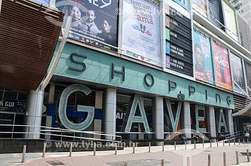 Entrada do Shopping da Gávea  - Rio de Janeiro - Rio de Janeiro (RJ) - Brasil