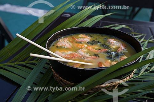 Tacacá - prato típico da região amazônica  - Manaus - Amazonas (AM) - Brasil