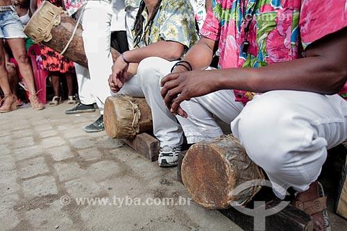 Apresentação do Grupo de Tambor de Crioula - Companhia Mariocas - no Dia da Consciência Negra  - Rio de Janeiro - Rio de Janeiro (RJ) - Brasil
