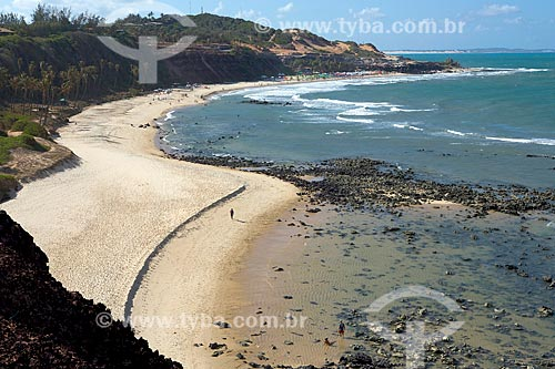 Vista geral da Praia de Pipa  - Tibau do Sul - Rio Grande do Norte (RN) - Brasil