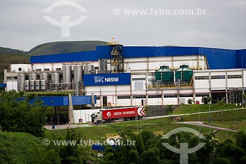 Fábrica de bebidas da Nestlé às margens do KM 20 da Rodovia Washington Luís (BR-040)  - Três Rios - Rio de Janeiro (RJ) - Brasil