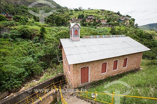 Antiga Casa de Força da Usina Hidrelétrica de Marmelos (1889) - primeira grande usina hidrelétrica da América do Sul - atual Museu Usina Marmelos Zero  - Juiz de Fora - Minas Gerais (MG) - Brasil