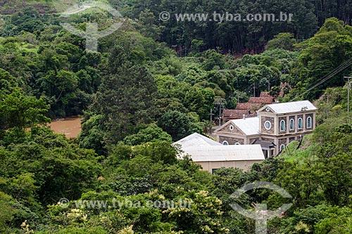 Usina Hidrelétrica de Marmelos (1889) - primeira grande usina hidrelétrica da América do Sul  - Juiz de Fora - Minas Gerais (MG) - Brasil