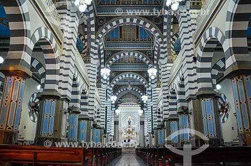 Interior da Igreja Basílica do Imaculado Coração de Maria  - Rio de Janeiro - Rio de Janeiro (RJ) - Brasil