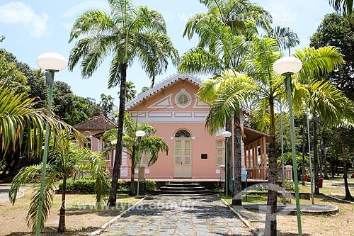 Fachada da Refinaria Multicultural Sítio Trindade (século 17) - antiga sede do Sitio da Trindade  - Recife - Pernambuco (PE) - Brasil