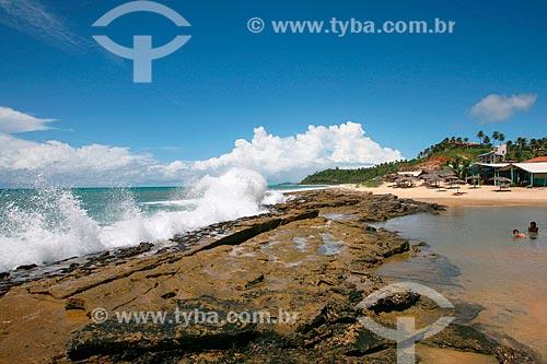 Orla da praia de Tibau do Sul  - Tibau do Sul - Rio Grande do Norte (RN) - Brasil