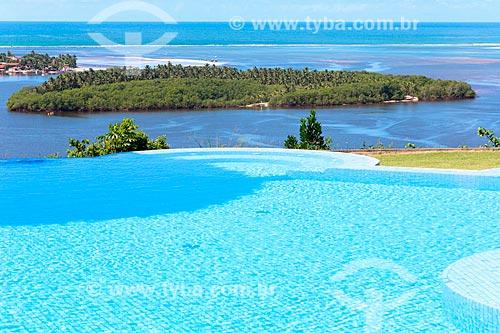 Vista da piscina do Hotel Gungapouranga  - Barra de São Miguel - Alagoas (AL) - Brasil