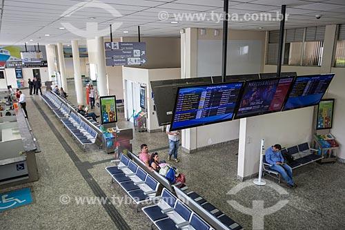 Interior do Aeroporto de Belo Horizonte/Pampulha - Carlos Drummond de Andrade (1933) - também conhecido como Aeroporto da Pampulha  - Belo Horizonte - Minas Gerais (MG) - Brasil