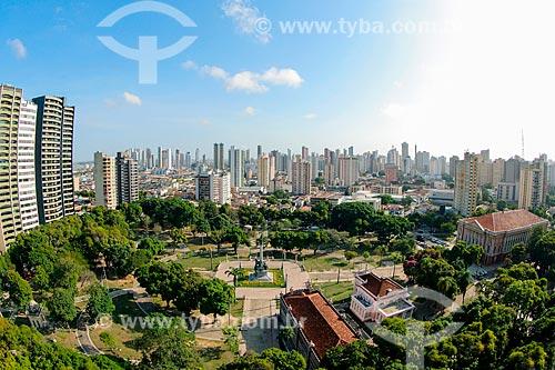 Vista geral da Praça da República  - Belém - Pará (PA) - Brasil
