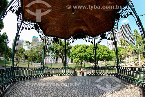 Coreto na Praça da República  - Belém - Pará (PA) - Brasil