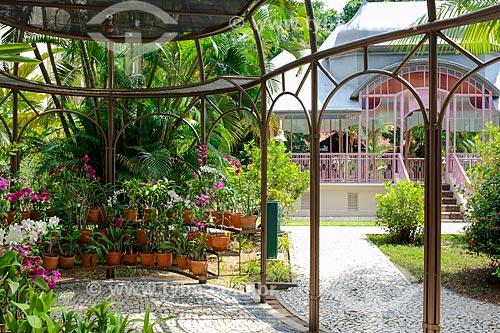 Orquidário do Parque da Residência - antiga residência dos governadores do Estado, atual Secretaria de Cultura  - Belém - Pará (PA) - Brasil