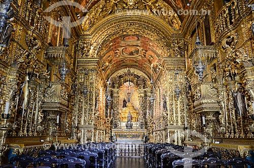 Interior da Igreja da Ordem Terceira de São Francisco da Penitência (1773)  - Rio de Janeiro - Rio de Janeiro (RJ) - Brasil