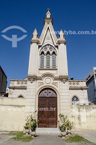 Fachada da Igreja Evangélica Fluminense  - Rio de Janeiro - Rio de Janeiro (RJ) - Brasil