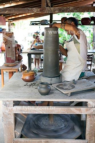 Artesanato em cerâmica na Ilha de Marajó  - Soure - Pará (PA) - Brasil