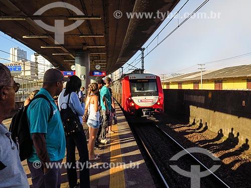 Metrô em estação do metrô de Porto Alegre  - Porto Alegre - Rio Grande do Sul (RS) - Brasil