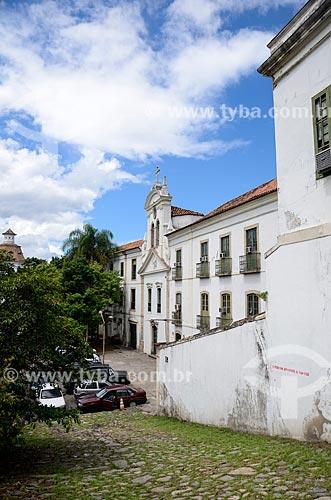 Ladeira da Misericórdia (primeira via pública do Rio de Janeiro) e Igreja de Nossa Senhora do Bonsucesso (1780)  - Rio de Janeiro - Rio de Janeiro (RJ) - Brasil