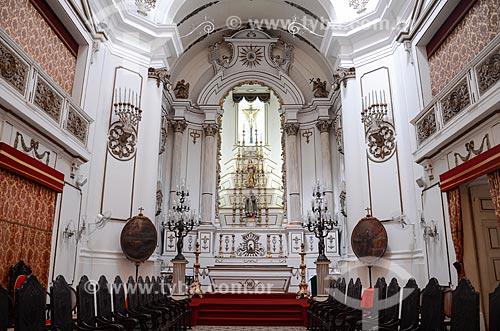Interior da Igreja de Nossa Senhora do Bonsucesso (1780)  - Rio de Janeiro - Rio de Janeiro (RJ) - Brasil