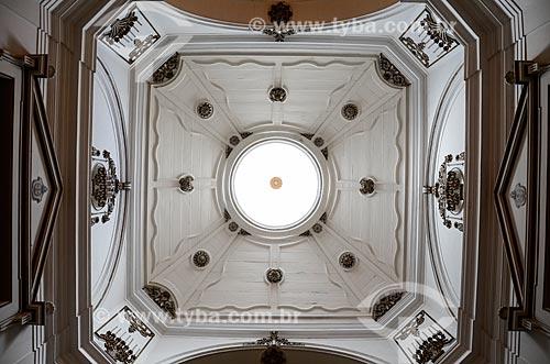 Cúpula octogonal em madeira - Igreja de Nossa Senhora do Bonsucesso (1780)  - Rio de Janeiro - Rio de Janeiro (RJ) - Brasil