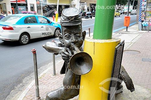 Estátua do Corneteiro - Autor: Ique  - Rio de Janeiro - Rio de Janeiro (RJ) - Brasil