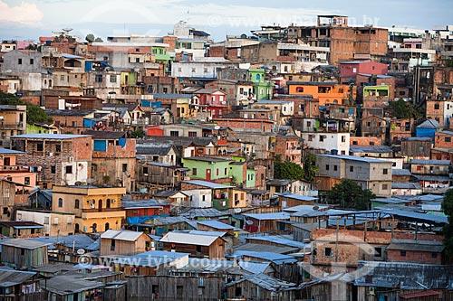 Casas de palafita  - Manaus - Amazonas (AM) - Brasil