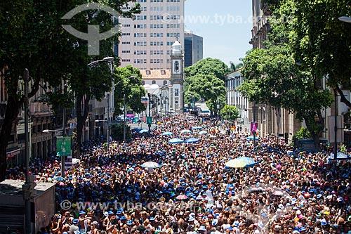 Foliões durante o desfile do Bloco da Preta  - Rio de Janeiro - Rio de Janeiro (RJ) - Brasil