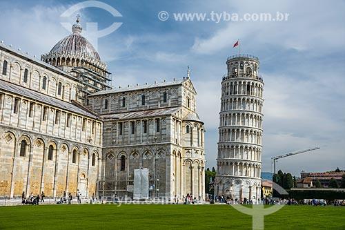 Duomo di Pisa - Catedral de Pisa (1092) - com a torre pendente di Pisa (1174)  - Pisa - Província de Pisa - Itália