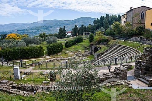 Teatro Romano de Fiesole  - Florença - Província de Florença - Itália