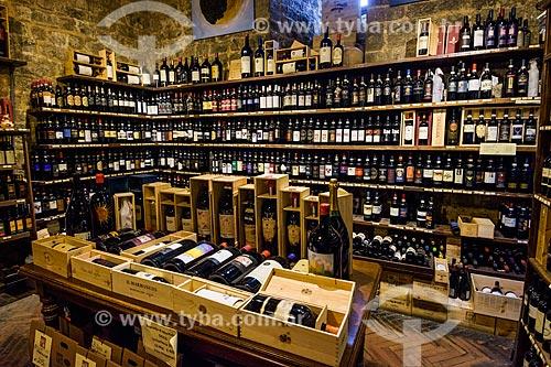 Adega na cidade de Montalcino  - Montalcino - Província de Siena - Itália