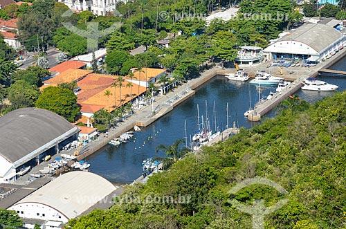 Barcos no Iate Clube do Rio de Janeiro  - Rio de Janeiro - Rio de Janeiro (RJ) - Brasil