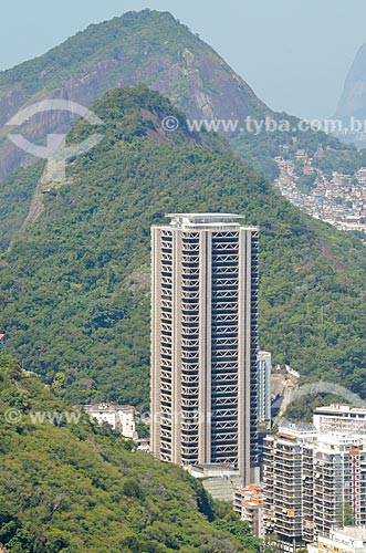 Vista da Torre do Rio Sul a partir do Morro da Urca  - Rio de Janeiro - Rio de Janeiro (RJ) - Brasil