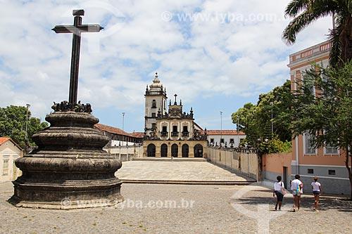 Convento e Igreja de São Francisco (1588) - parte do Centro Cultural São Francisco  - João Pessoa - Paraíba (PB) - Brasil