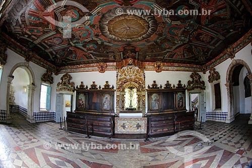 Interior do Convento e Igreja de São Francisco (1588) - parte do Centro Cultural São Francisco  - João Pessoa - Paraíba (PB) - Brasil