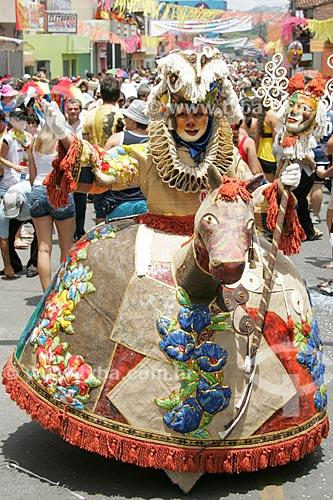 Papangus durante o carnaval na cidade de Bezerros  - Bezerros - Pernambuco (PE) - Brasil