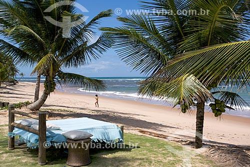 Orla da Praia de taipús de fora   - Maraú - Bahia (BA) - Brasil