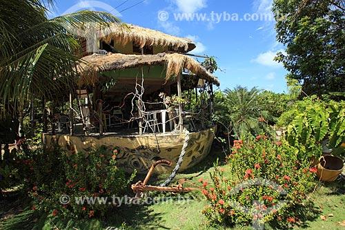 Restaurante A Arca de Bilú na Praia de Tambaba  - Conde - Paraíba (PB) - Brasil