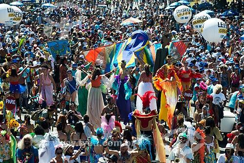 Desfile do bloco de carnaval Orquestra Voadora  - Rio de Janeiro - Rio de Janeiro (RJ) - Brasil