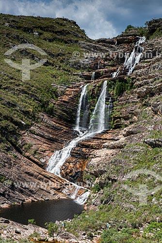 Cachoeira da Capivara - Parque Nacional Serra do Cipó  - Santana do Riacho - Minas Gerais (MG) - Brasil