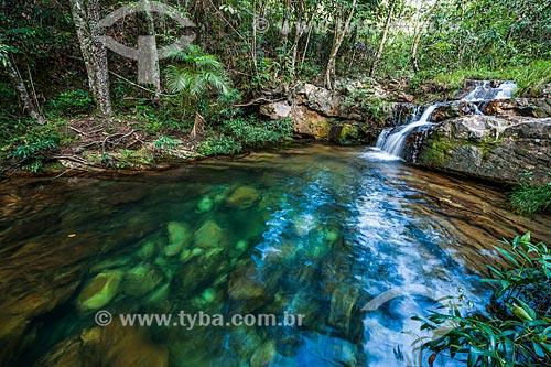 Poço do Curupira no Parque Nacional da Chapada dos Veadeiros  - Alto Paraíso de Goiás - Goiás (GO) - Brasil