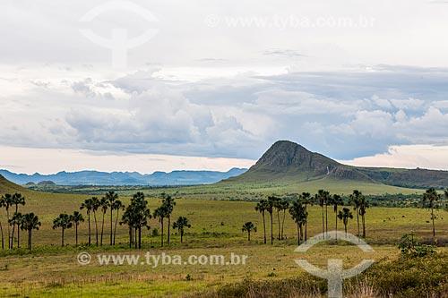 Vista do Jardim de Maytrea a partir da Rodovia GO-239  - Alto Paraíso de Goiás - Goiás (GO) - Brasil