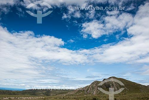 Paisagem na região de Lapinha da Serra  - Santana do Riacho - Minas Gerais (MG) - Brasil