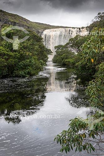 Cachoeira do Bicame - RPPN (Reserva Particular do Patrimônio Natural) Brumas do Espinhaço  - Santana do Riacho - Minas Gerais (MG) - Brasil